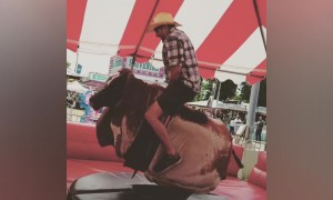 Mechanical Bull Fails