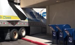 Bad Driving Lead to Trashed Trailer