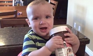Kid is Crazy for Chocolate Hazelnut Spread