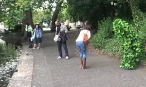 'Bushman' prank gets hilarious reactions from Irish public