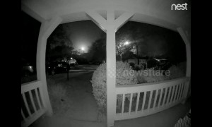 Doorbell camera records meteor in Florida