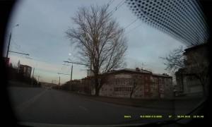 Meteor Falls over Krasnoyarsk