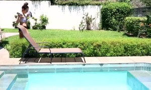 Slipping by the Swimming Pool Fail