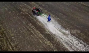 Thai farmers compete in high octane plough racing championships