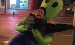 Alien Abduction in Tel Aviv