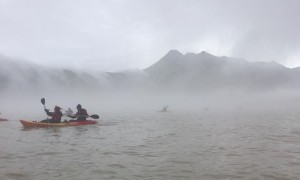 Kayaker's Mystical Adventure