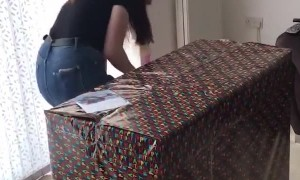 Girl Brought to Tears by Birthday Present