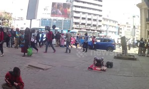 Kenyan girl wows crowd with her incredible contortion skills