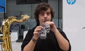 3D-printed saxophone shown off at German tech expo