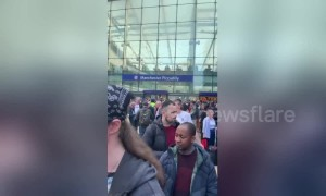 Hundreds of people evacuated from Manchester Piccadilly station