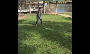 Golfing Gender Reveal Fail