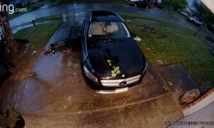 Doorbell Camera Catches Tornado Touching Down