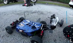 Remote Control Car Hits 120 Mph
