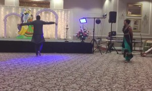 Bride and her brother pull off flawless wedding dance routine