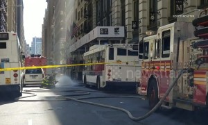 Manhole explosions rock Midtown NYC leaving four injured