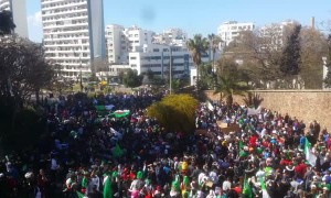 Protest March Fills Algerian Street