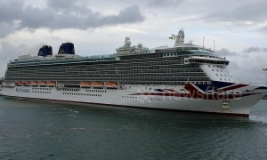 Cruise ships race into Southampton a day early to avoid rough seas from Storm Hannah