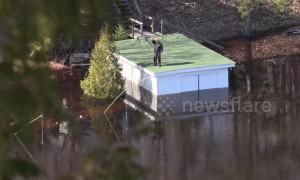 Devastating flooding brings Ontario town to state of emergency