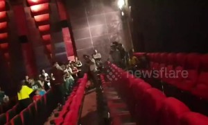 Avengers fans in Thailand drenched as water leaks from cinema ceiling