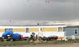 Tornado Whips Through Wyoming