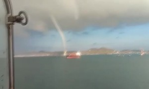 Waterspout Spotted