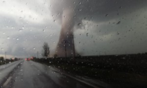 Man Gets Dangerously Close to Mammoth Tornado