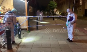 Fatal stabbing of boy, thought to be 15, in Hackney north-east London