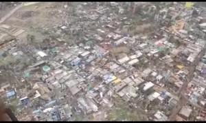 New aerial footage shows cyclone's trail of destruction in eastern India