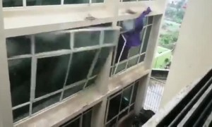 Cyclone Fani rips through windows of university campus in India