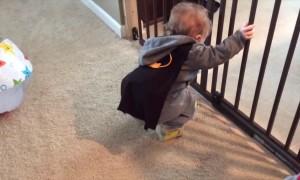 Baby Batman Stuck In A Vaseline Jar