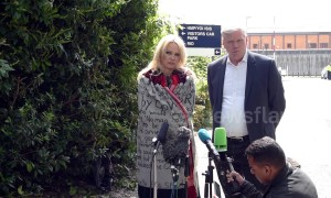 Pamela Anderson visits Julian Assange at London's Belmarsh Prison