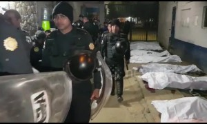 At least seven inmates dead in Guatemala prison shooting