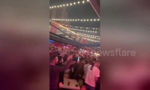 Euphoric Liverpool fans celebrate win over Barcelona