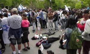 NYU students' Israel celebration met by pro-Palestinian protests