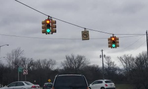 Traffic Light Sends Mixed Messages