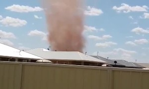 Whirlwind in New South Wales