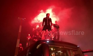 Wild celebrations as PAOK wins Greek Cup to secure first-ever double