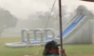 Cookout Gets Blustery in Grand Bay