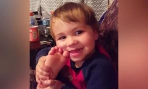 Babies Find Their Feet