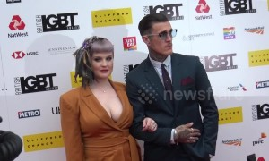 Kelly Osbourne, Elli Goulding, Stephen Fry and other celebs arrive for LGBT awards