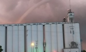 Tornado Tears Across Kansas