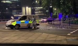 Teenager left in 'critical' condition after Westminster stabbing