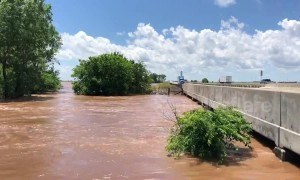 Dangerous flooding sweeps across Oklahoma, USA