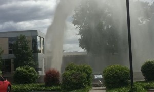Accidental Water Fountain in Washington