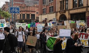 Youth in Manchester join global march against climate change