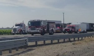 Tragic Big Rig Accident Closes All Lanes