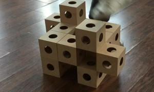 Mesmerizing Moving GhostKube Sculpture