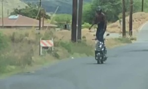 Scooter Rider Has Outstanding Balance