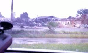 Tornado destroys hotel in El Reno, Oklahoma