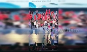 Chinese teenager killed after theatre stage collapses during dance audition